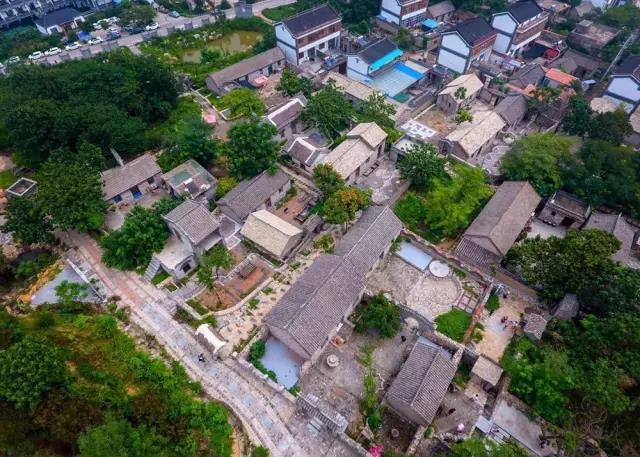天朗文化景观施工的村庄-西李