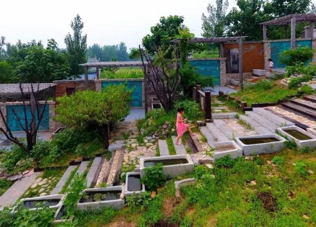 天朗文化景观施工村庄-西李的石板路
