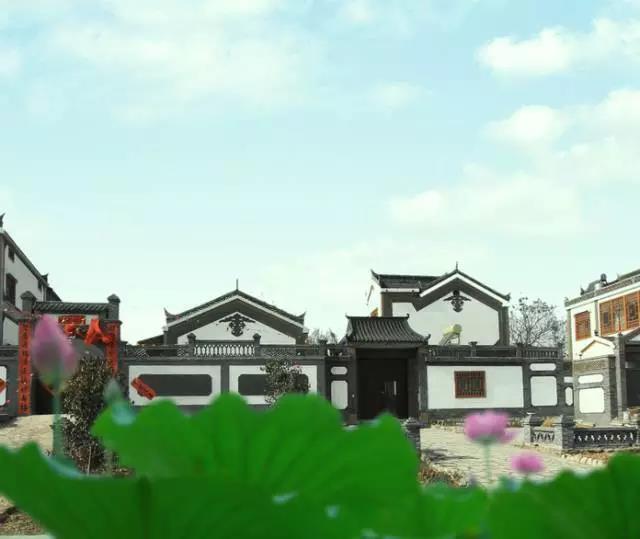 天朗文化景观施工西李村